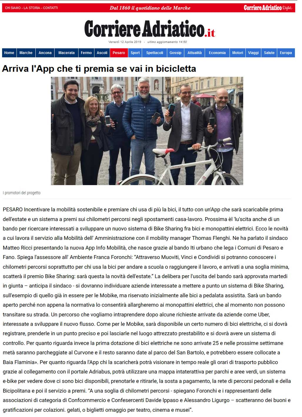 20190412-Corriere-Adriatico-12-Aprile-2019-Pesaro-App-Bicicletta.jpg